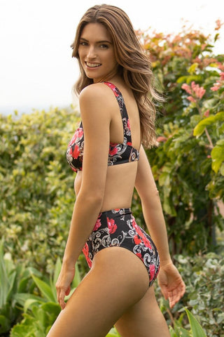 Wildflower Bandeau One Piece