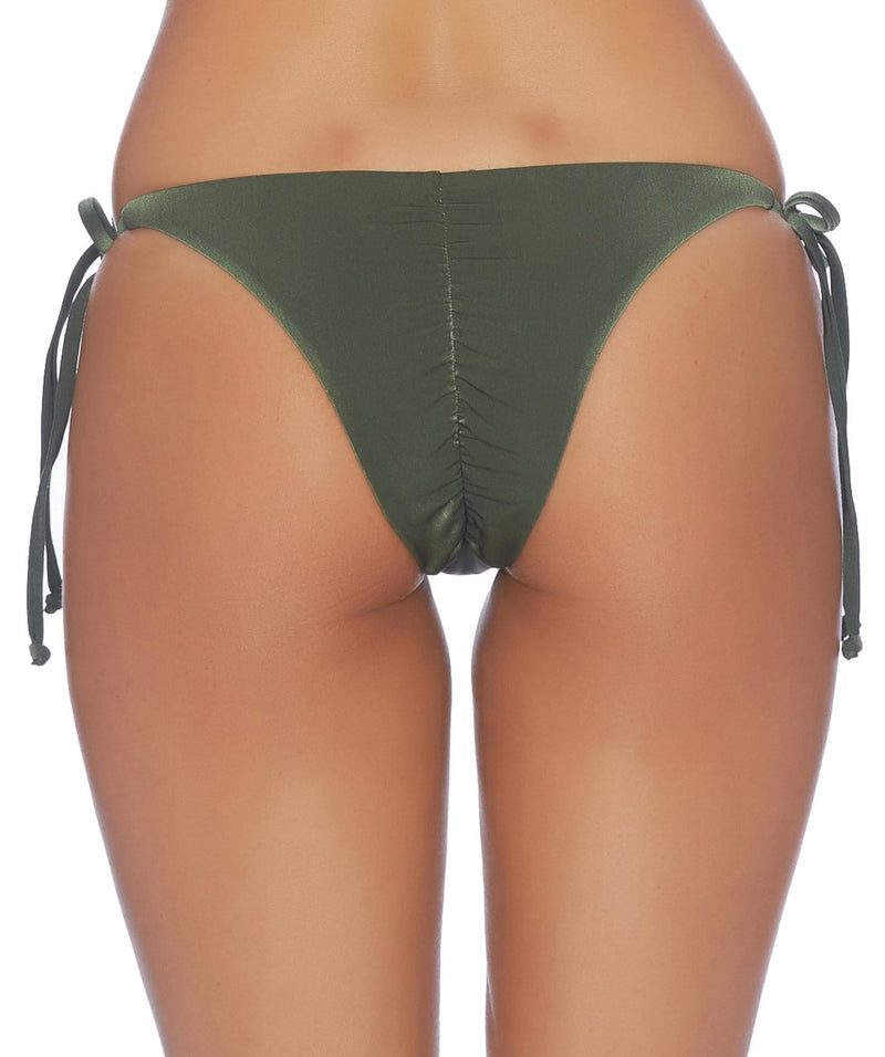 Carefree Ruched Tie Side Bottom