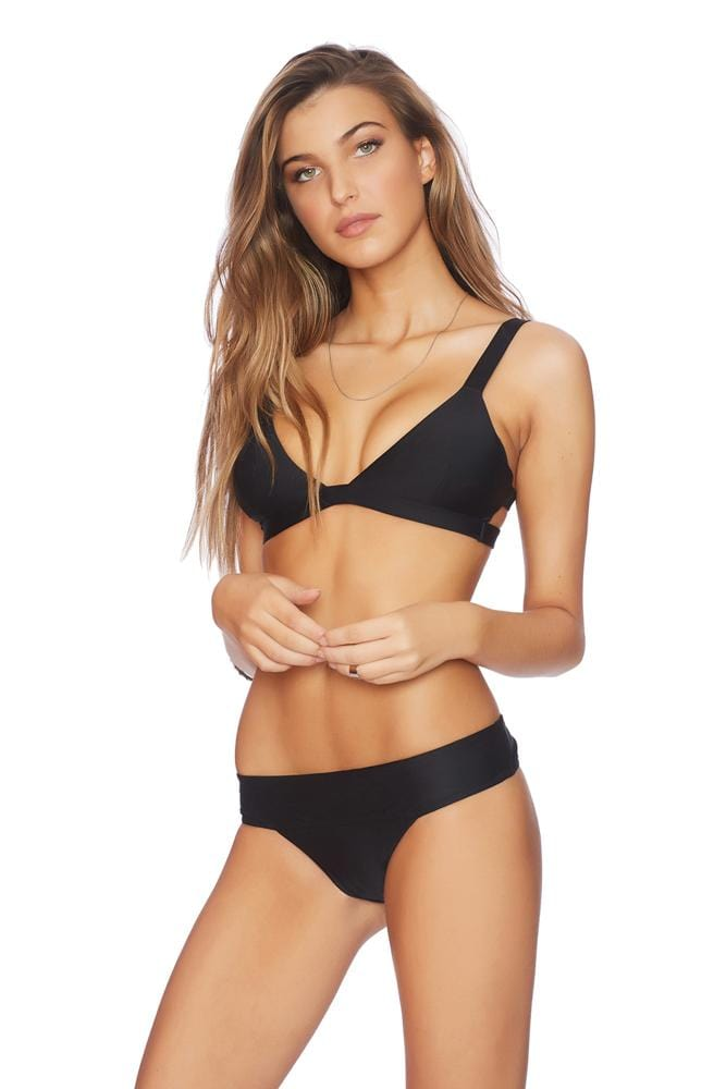 Down To Earth Ladder Back Bralette Bikini Top