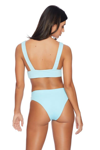 Solids Moderate Coverage Tie Side Bikini Bottom