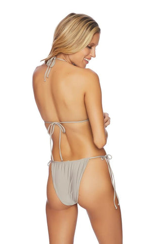 Painted Nature Shirr Side Hipster Bikini Bottom