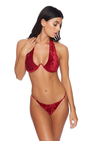 Blushing Wide Band Brazilian Bottom
