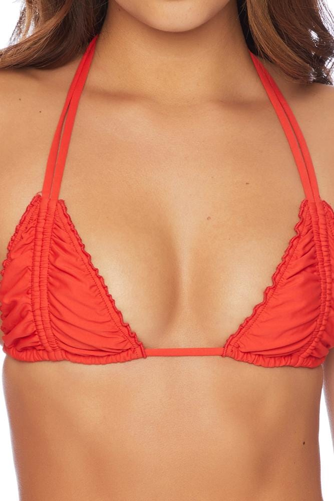 Mon Cheri Gemini Ruched Multi Way Triangle Bikini Top