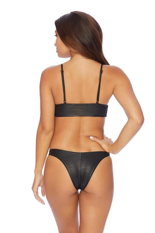 Brave High Leg Fixed String Bottom