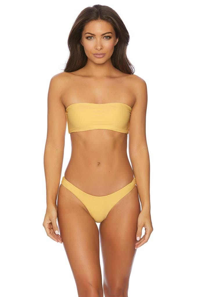 Daylight Daze Siren Ruched Back Basic Bikini Bottom