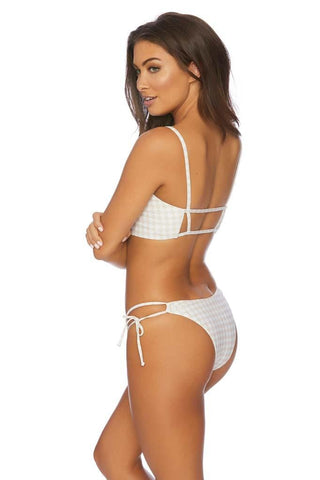 Boxed Out Believer Reversible Braided Strap V Bikini Bottom