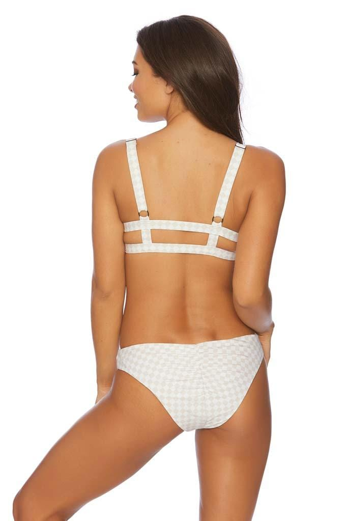Checkmate Serene Ruched Retro Bikini Bottom