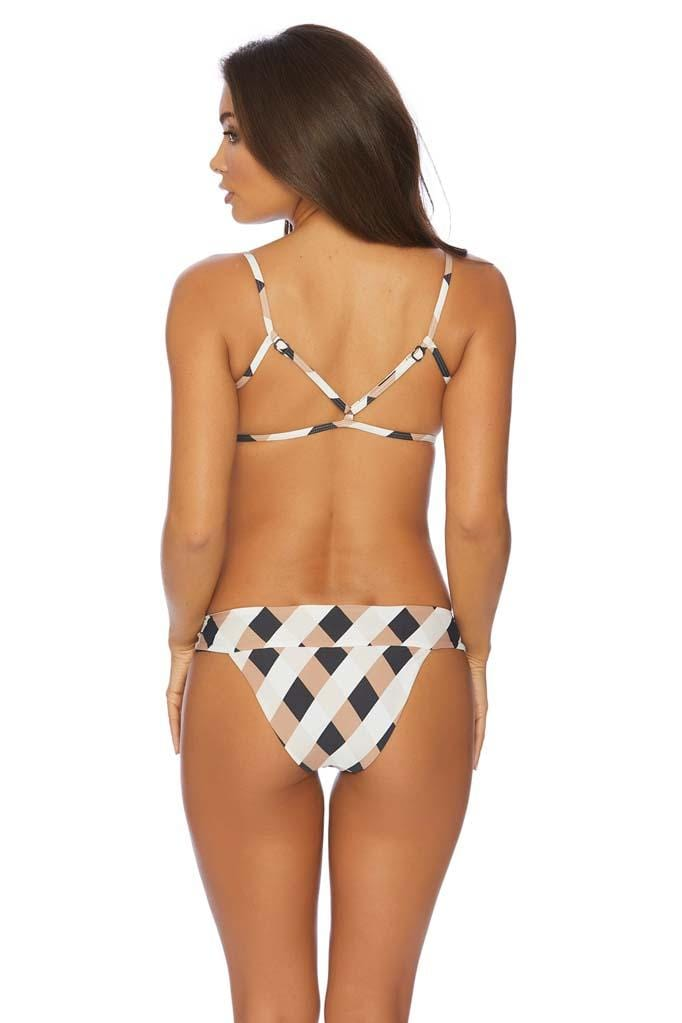 Boxed Out Rosemary Square Neck Bikini Top