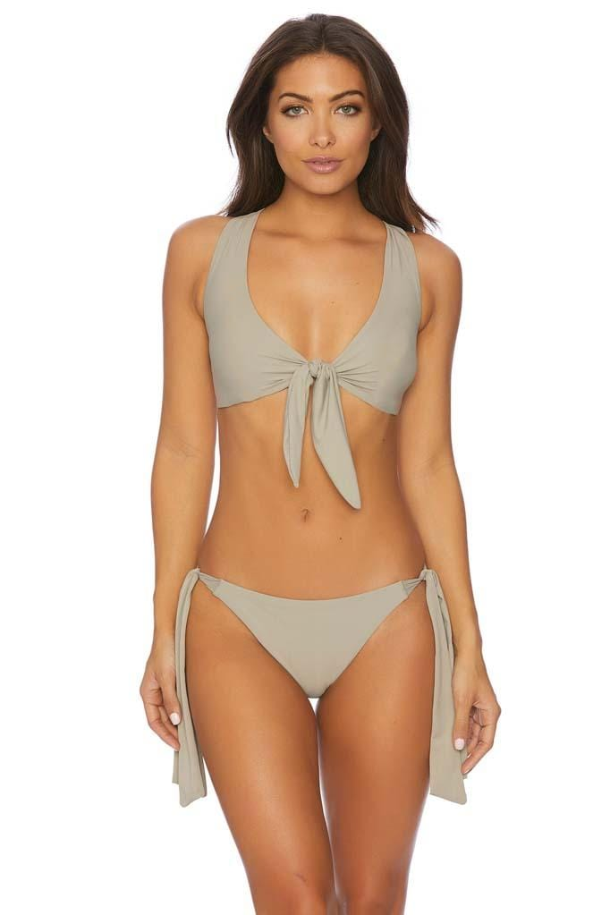 Jaws Drop All Tied Up Two Way Tie Crop Bikini Top