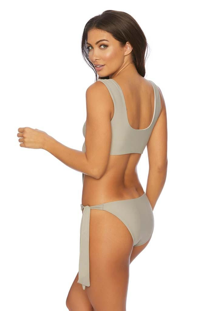 Jaws Drop Sola Tie Side V Bikini Bottom