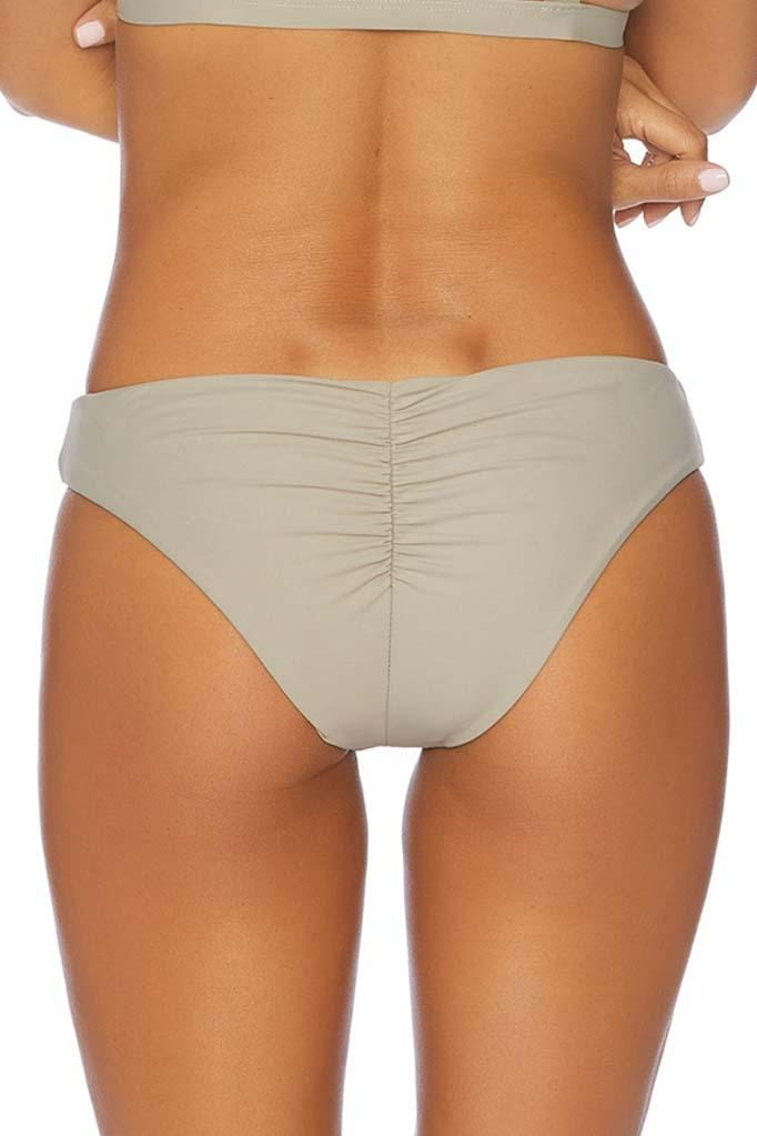 Jaws Drop Serene Ruched Retro Bikini Bottom