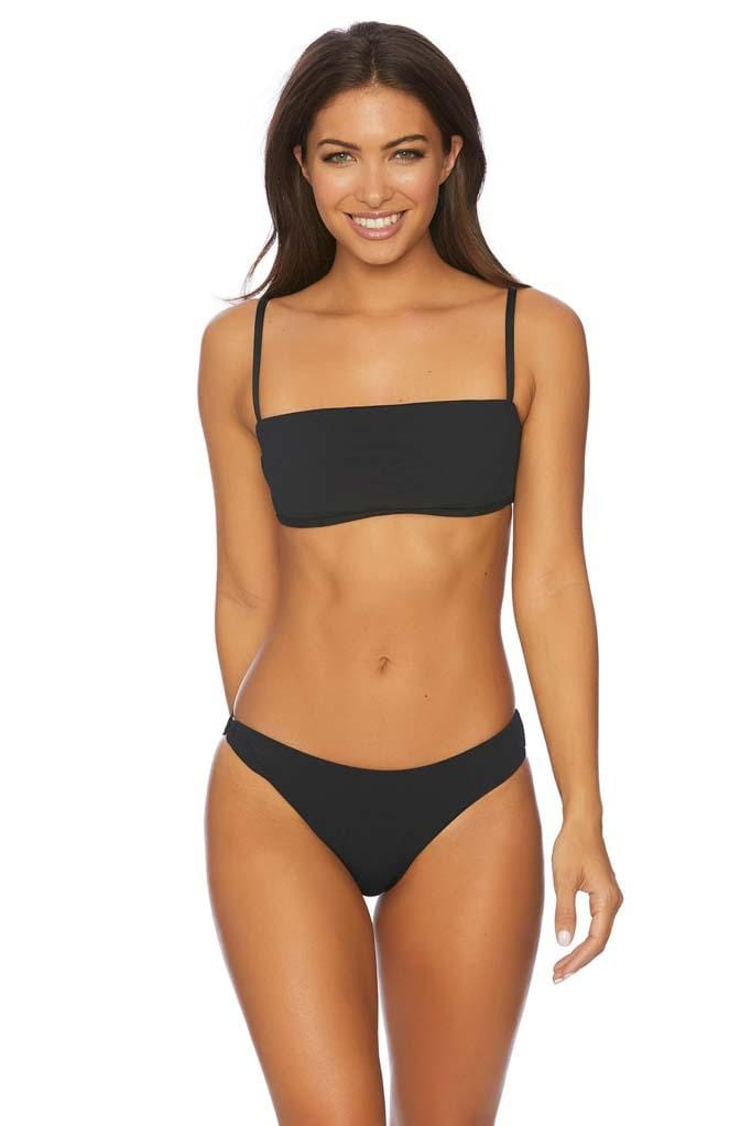 Minimale Mix Eve V Back Square Neck Bandeau Bikini Top