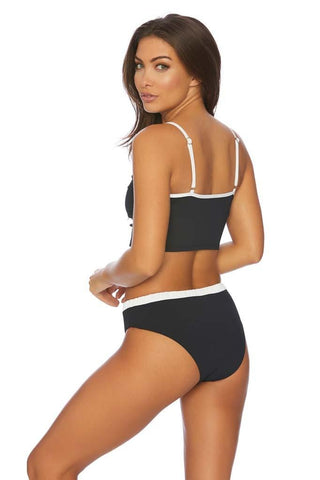 High Waist Lace Plus Size Bikini Bottom