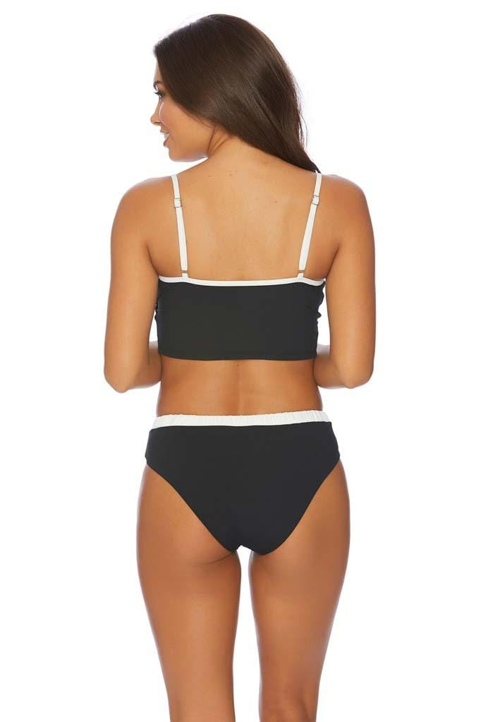 Minimale Mix Shotgun Crop Bikini Top