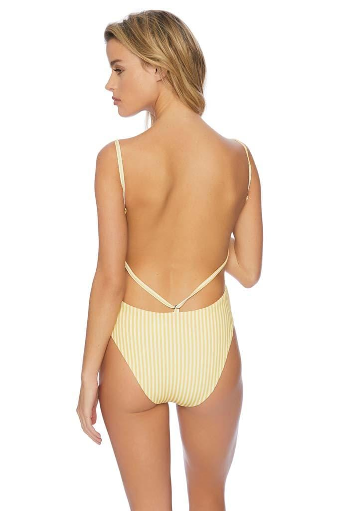 Honey Love Sting Ruthless High Leg Bib One Piece