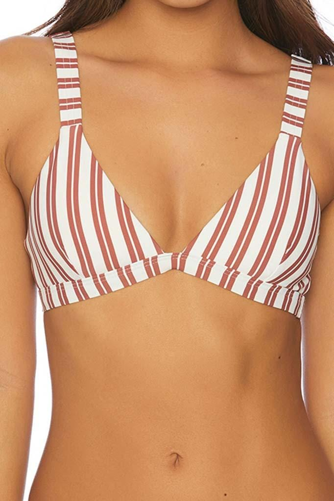 Joy Rider Down to Earth Ladder Back Bikini Top
