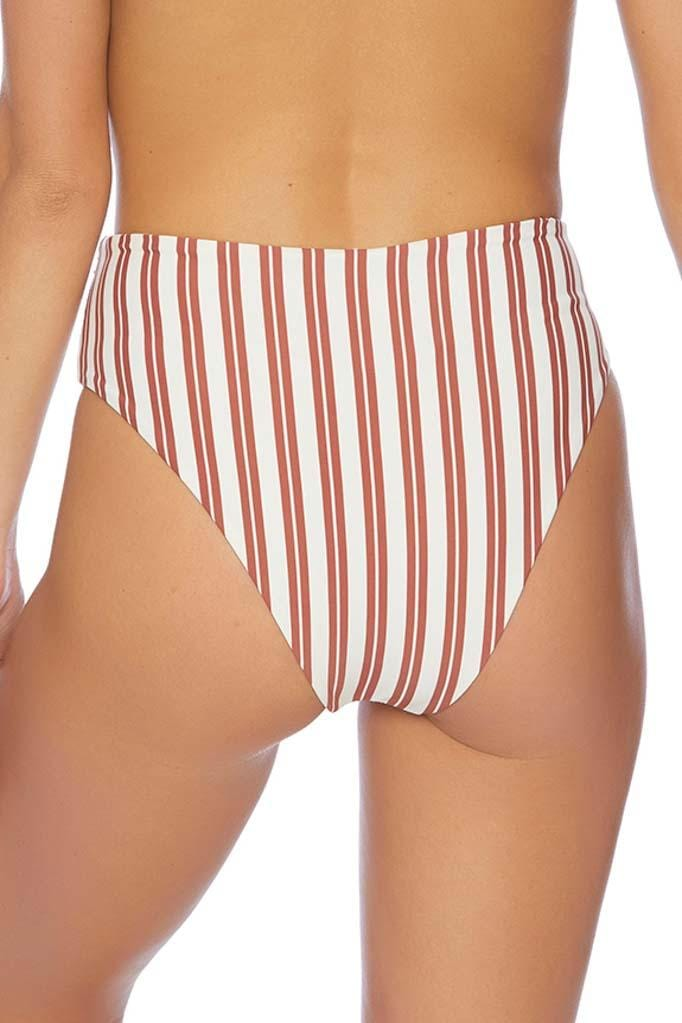 Joy Rider Senorita High Waisted Bow Tie Bikini Bottom