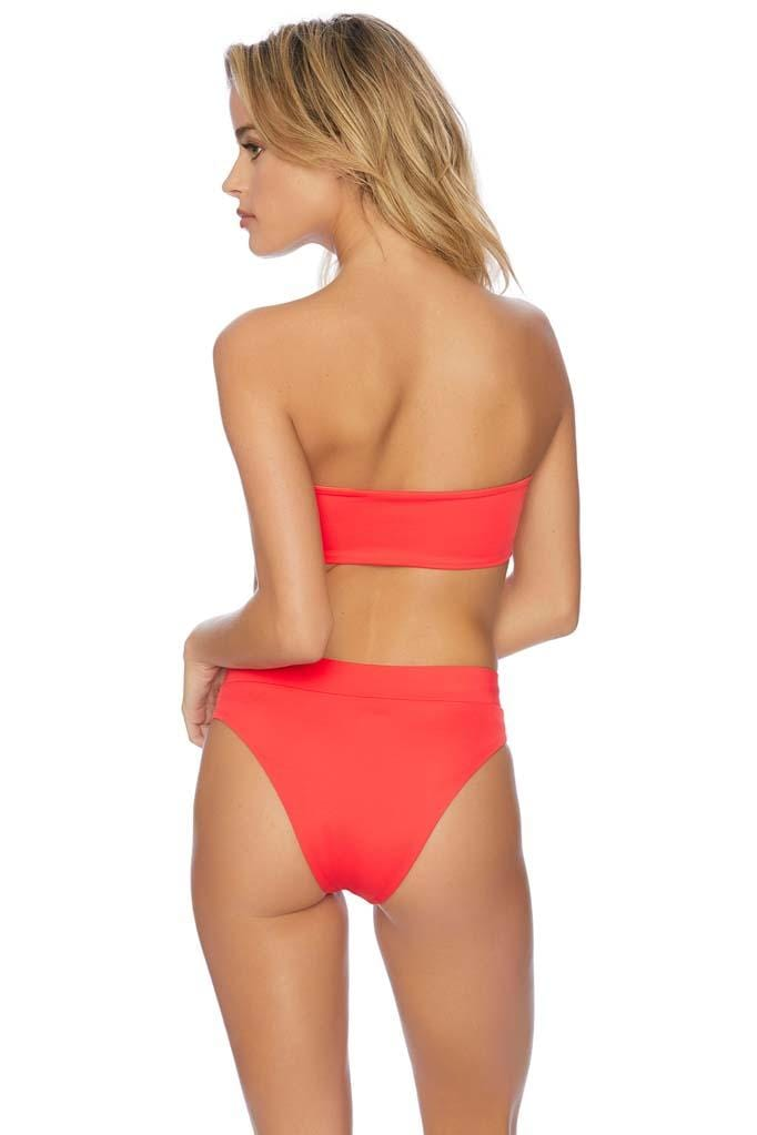 Rally Banded High Waist Bikini Bottom