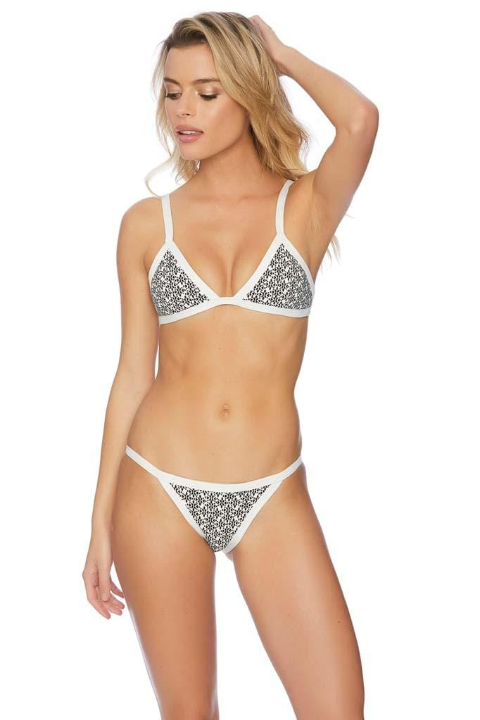 Beau Monde Fixed Wide Strap Bikini Bottom