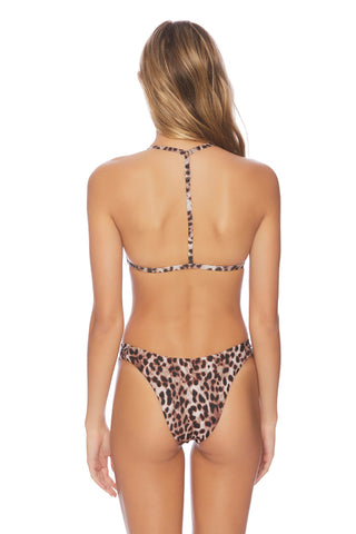 Cascade Ikat Triple Tier Tankini Top