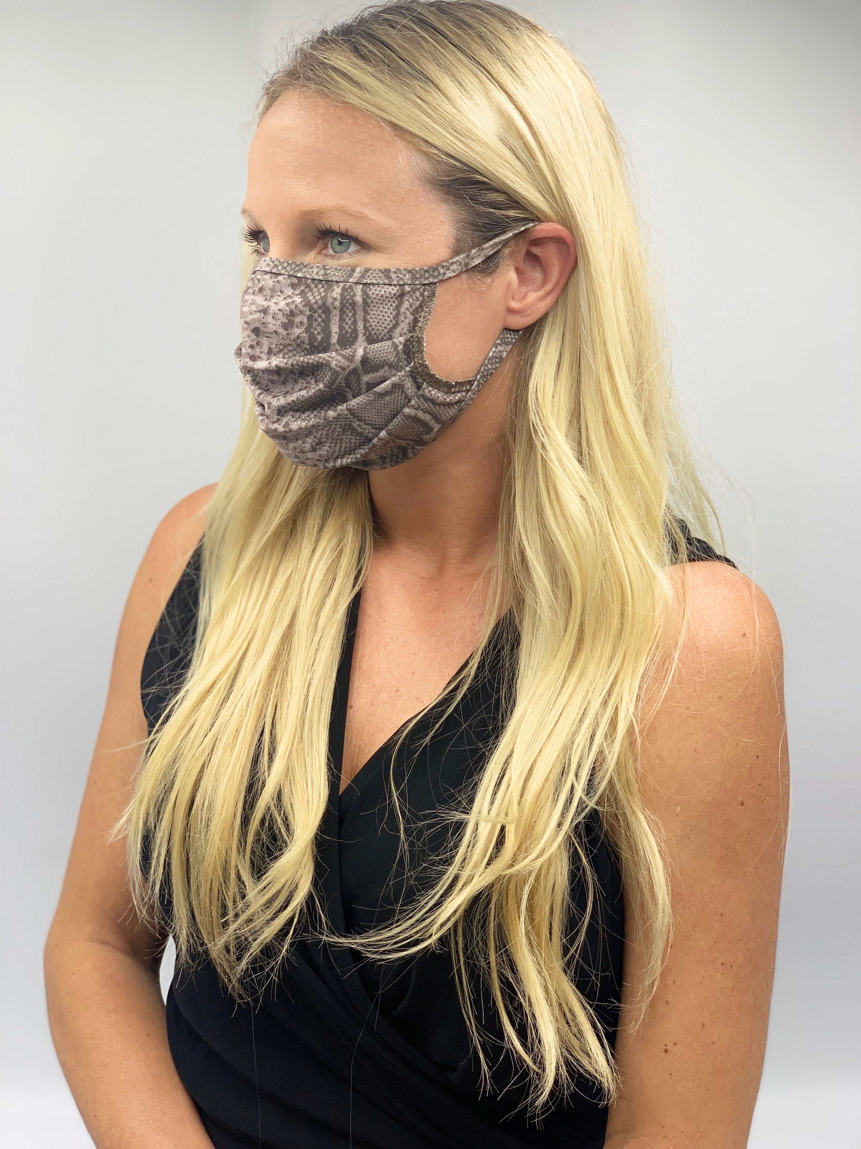 ANIMAL PRINT FACE MASK 8 PACK - FINAL SALE