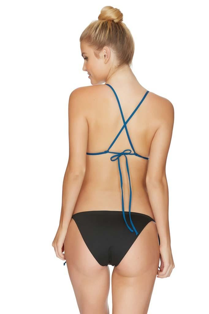 Raglan Reversible String Tie Side Bikini Bottom