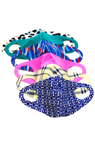 FACE MASK ASSORTED 10 PACK
