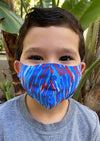 ASSORTED KID'S LASER CUT FACE MASK 6 PACK - FINAL SALE
