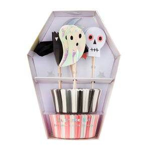 Kit para cupcakes - Iconos de Halloween