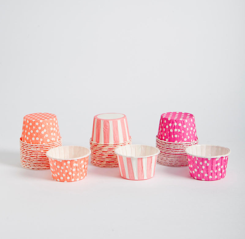 Candy cups - rosados