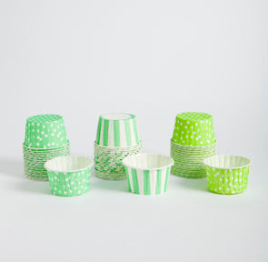 Candy cups - verdes