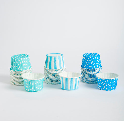 Candy cups - azules