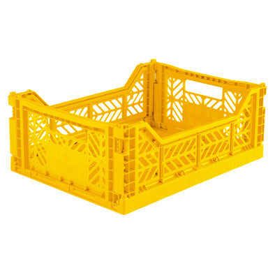 Caja plegable mediana - Amarillo