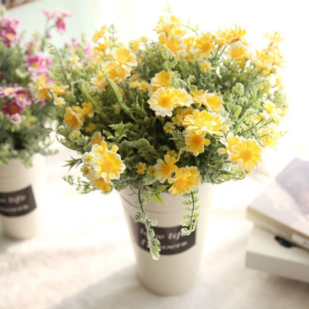 Artificial flower for home decoration fake flowers bridal bouquet artificial flower for home decoration fake flowers bridal bouquet home decoration accessories flores artificiales izmirmasajfo