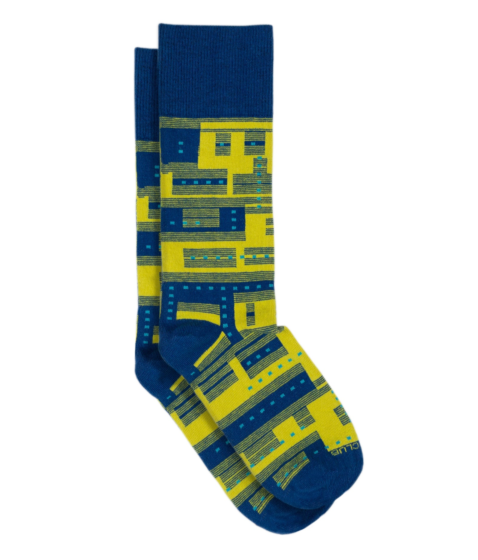 The Glitch - Goldenrod - Sock Club Store