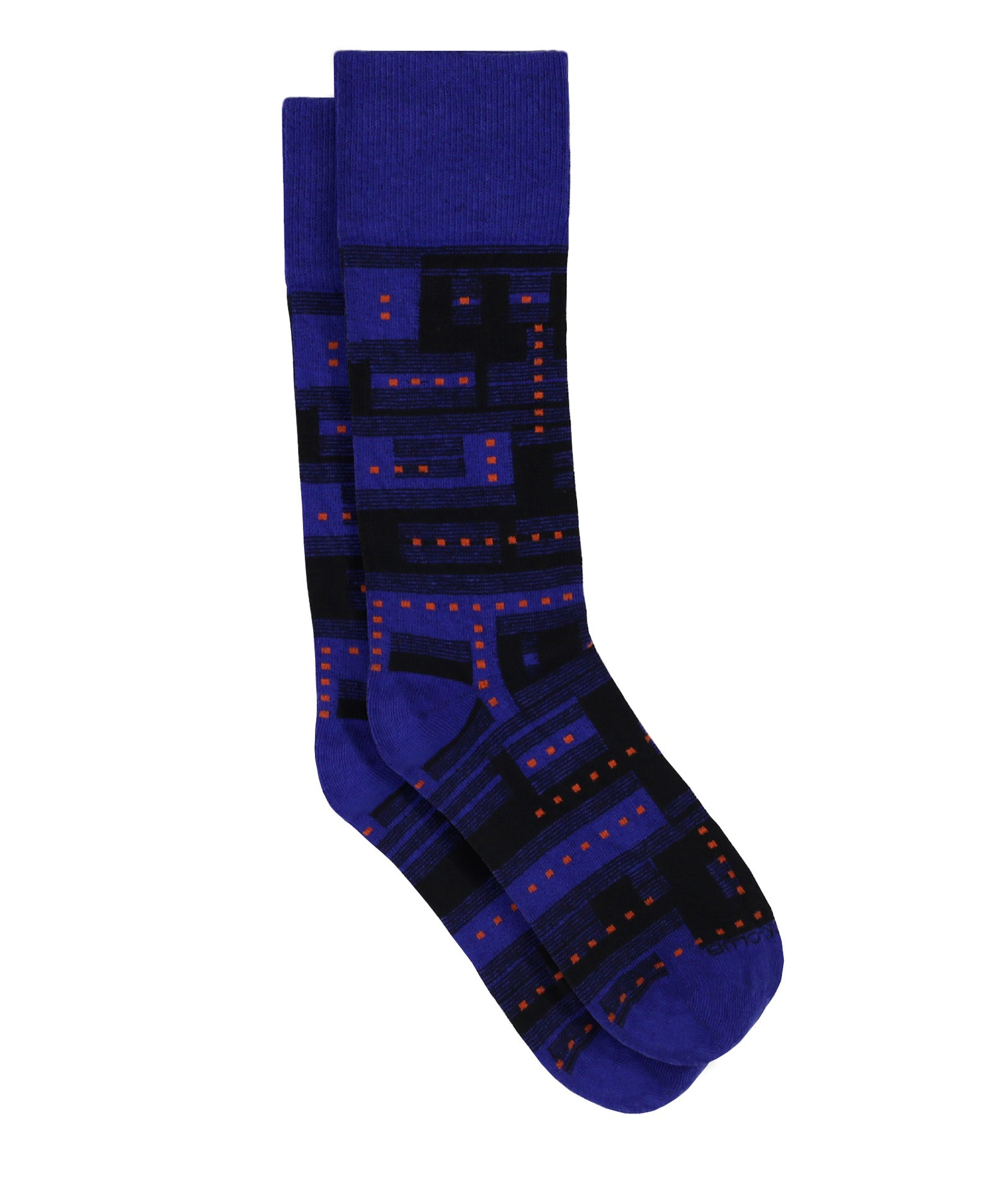 The Glitch - Ultramarine - Sock Club Store