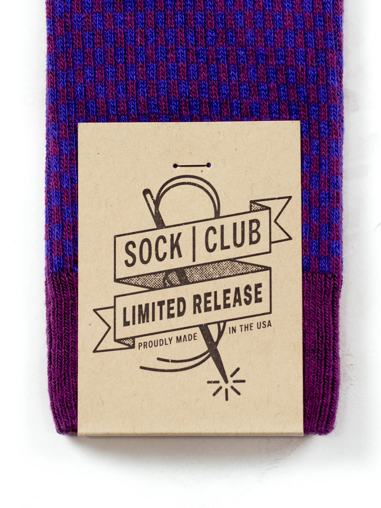 The Old Fashioned - Purple - Sock Club Store