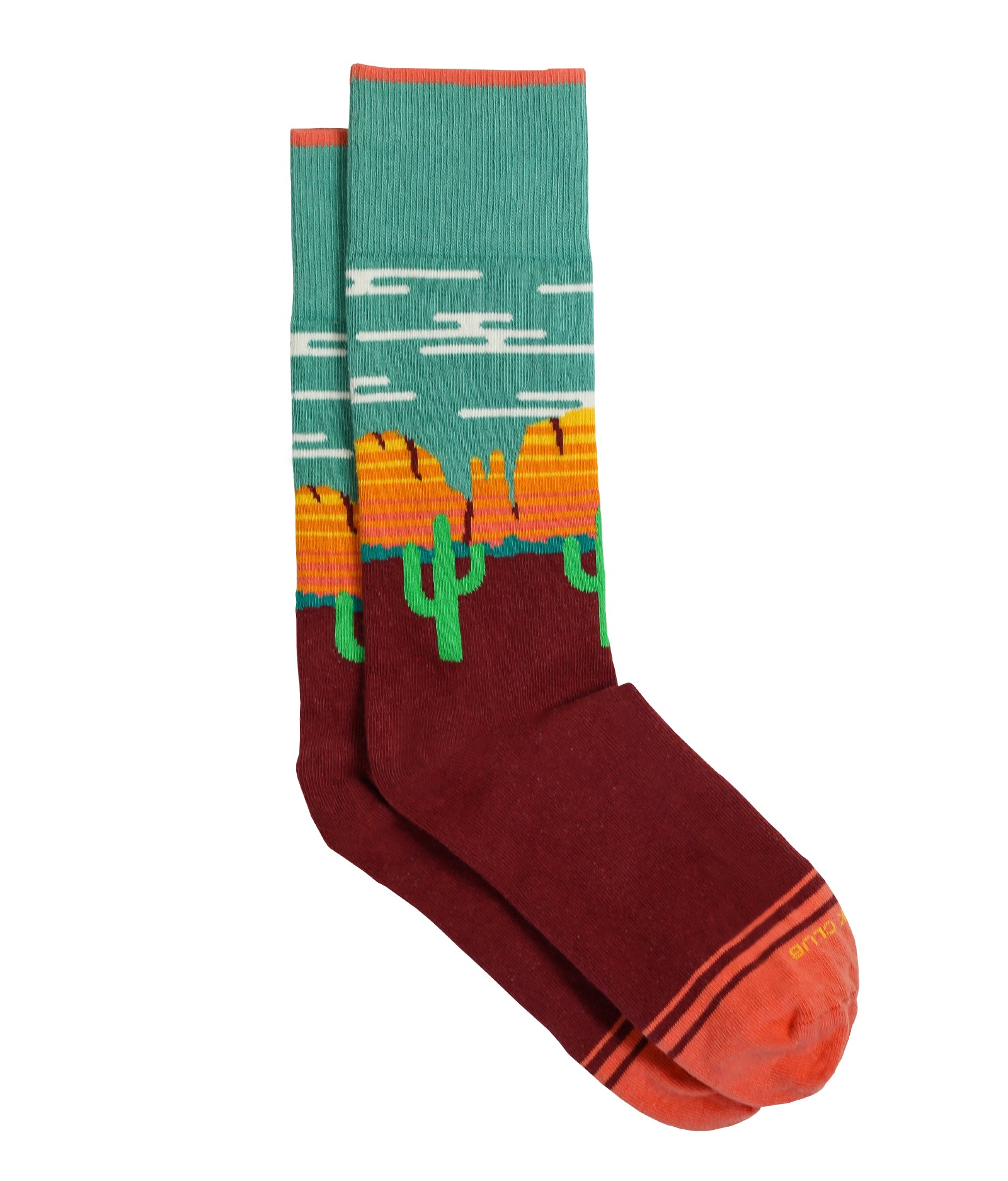 The Sedona - Living Coral - Sock Club Store