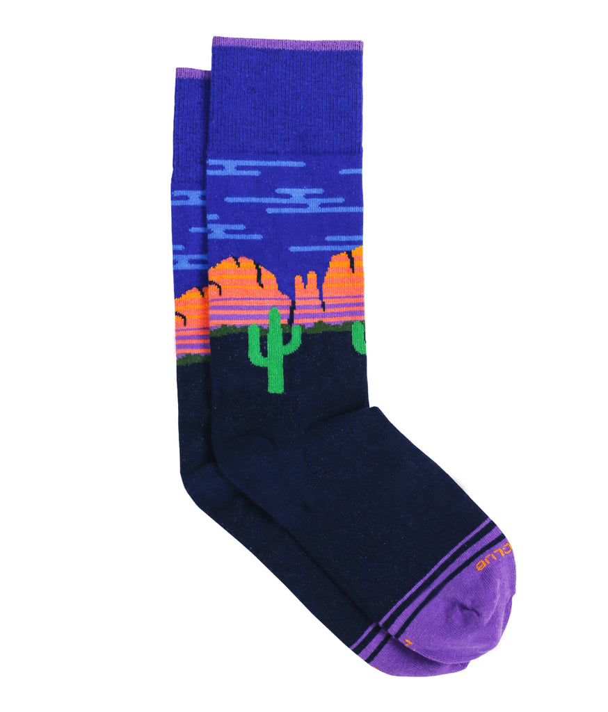 The Sedona - Iris - Sock Club Store