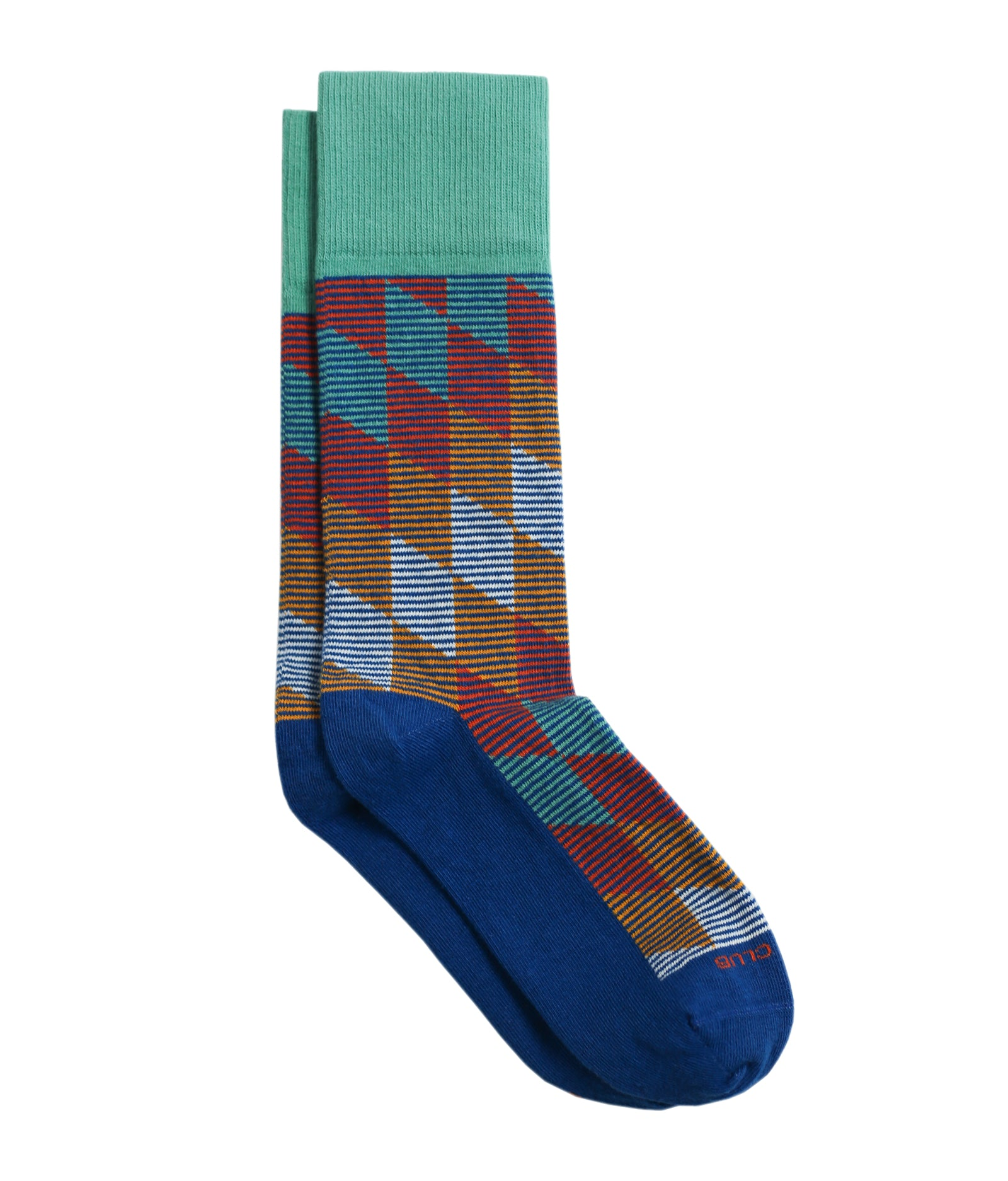 The Harlequin - Lagoon - Sock Club Store