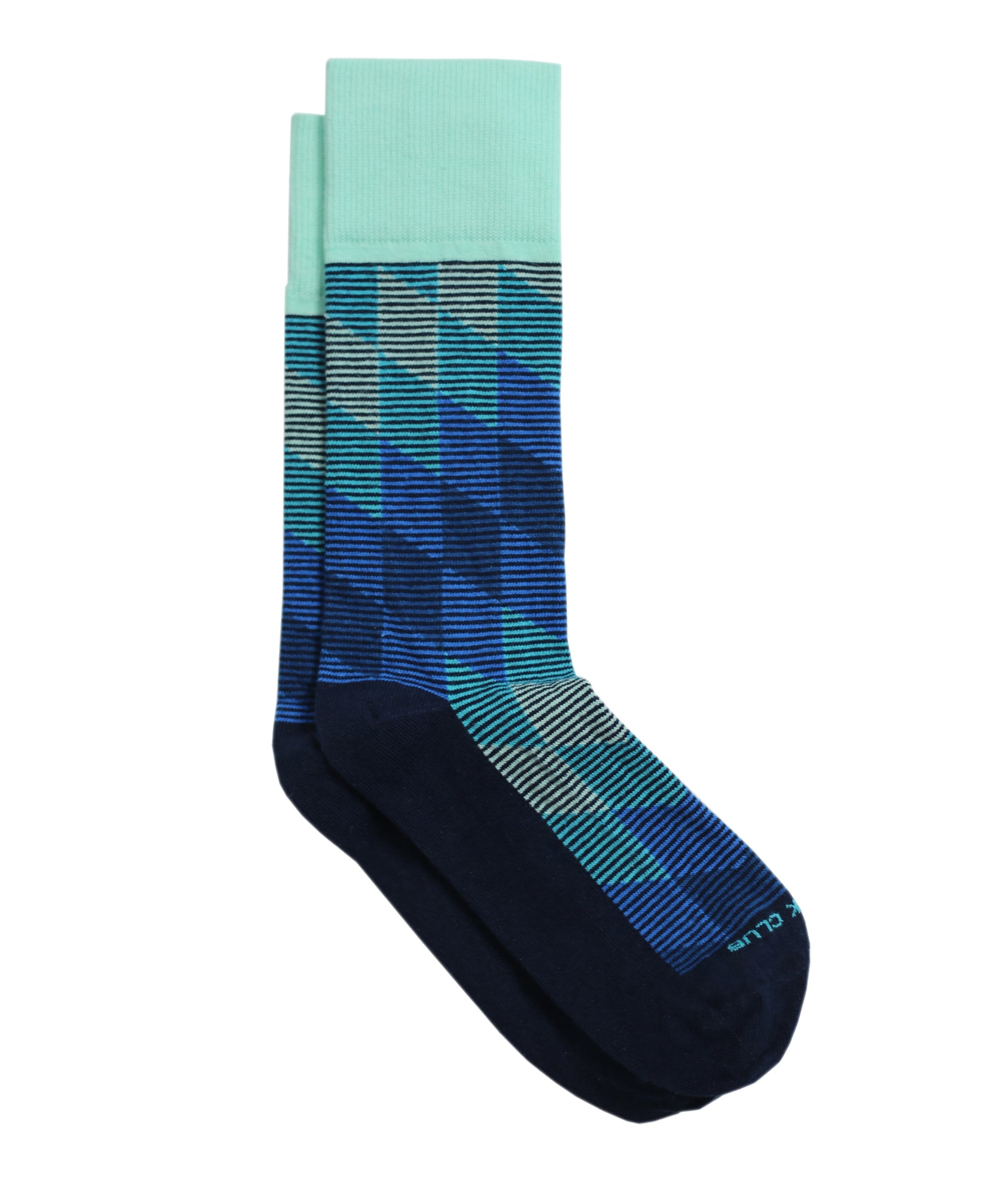 The Harlequin - Navy - Sock Club Store