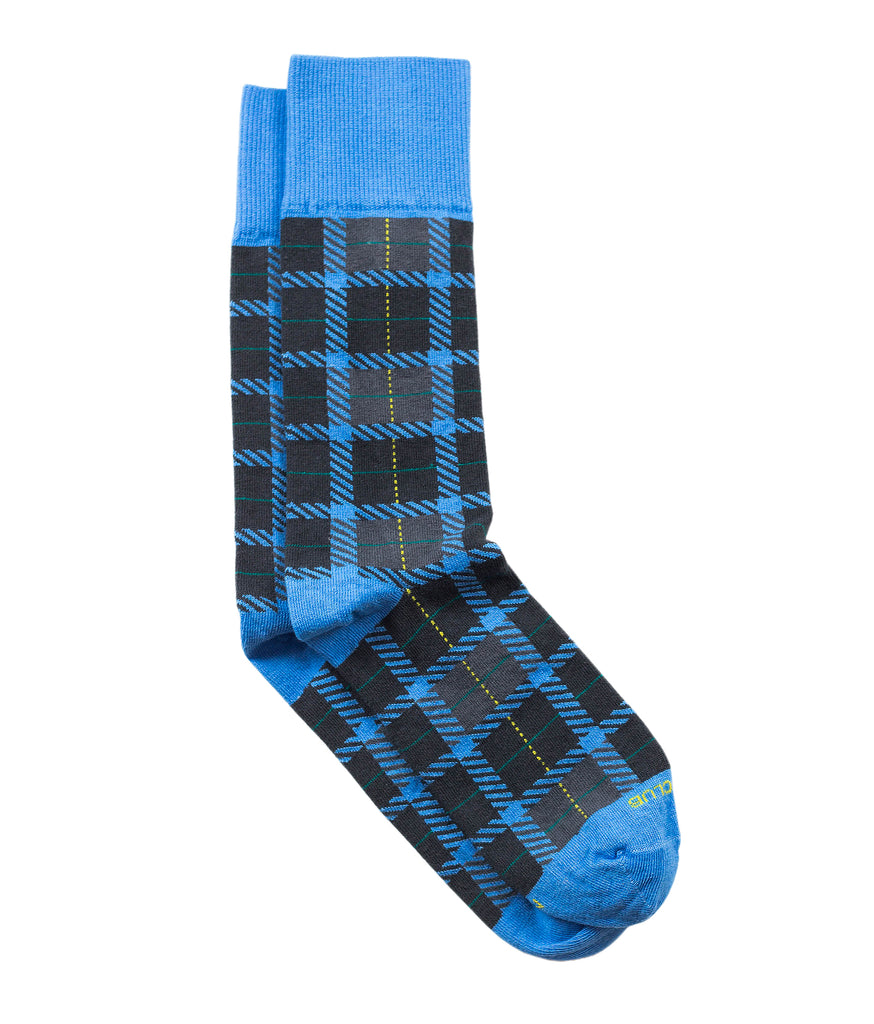The Tartan - Cornflower - Sock Club Store