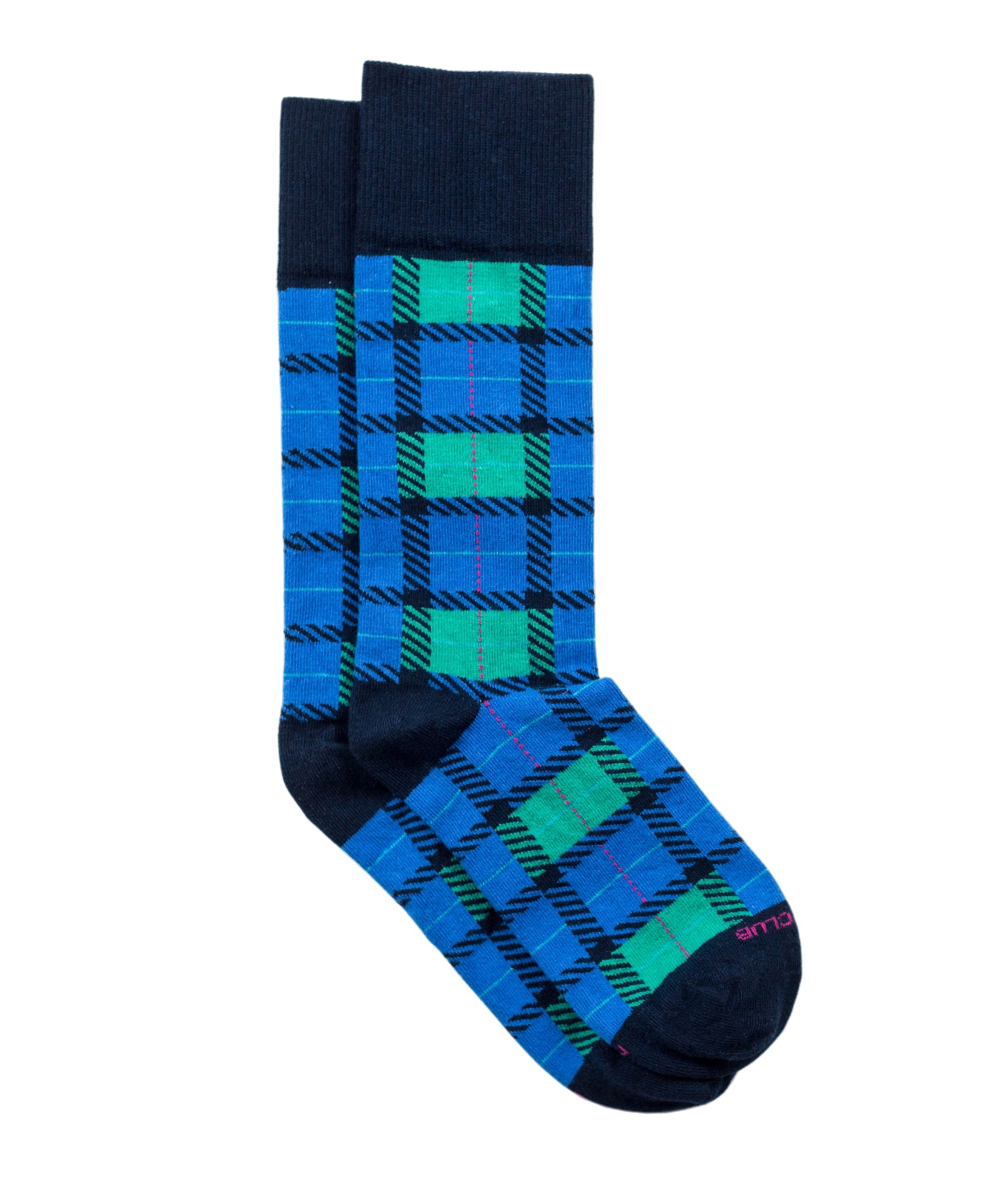 The Tartan - Blue - Sock Club Store