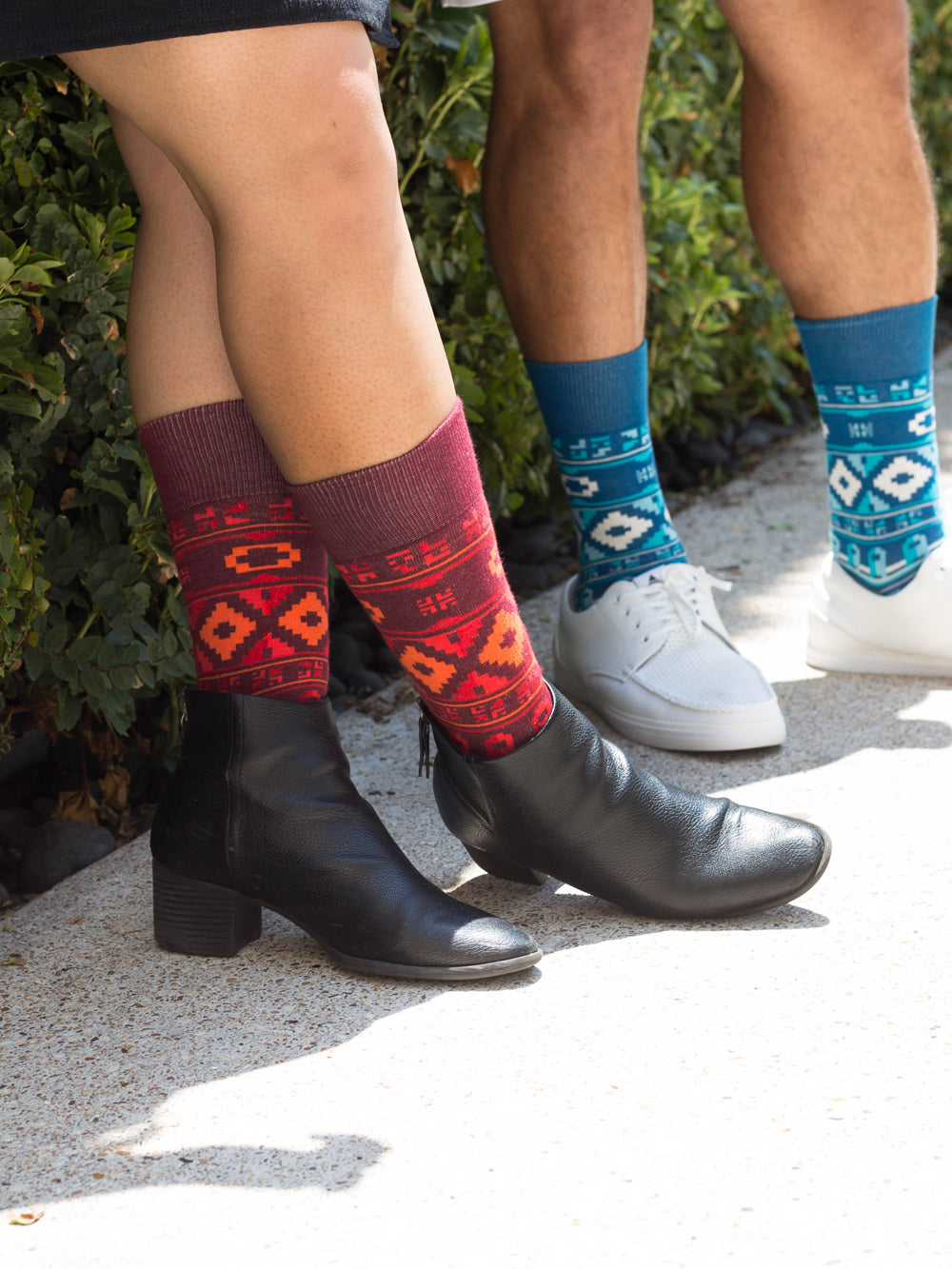 The Wanderer - Maroon - Sock Club Store
