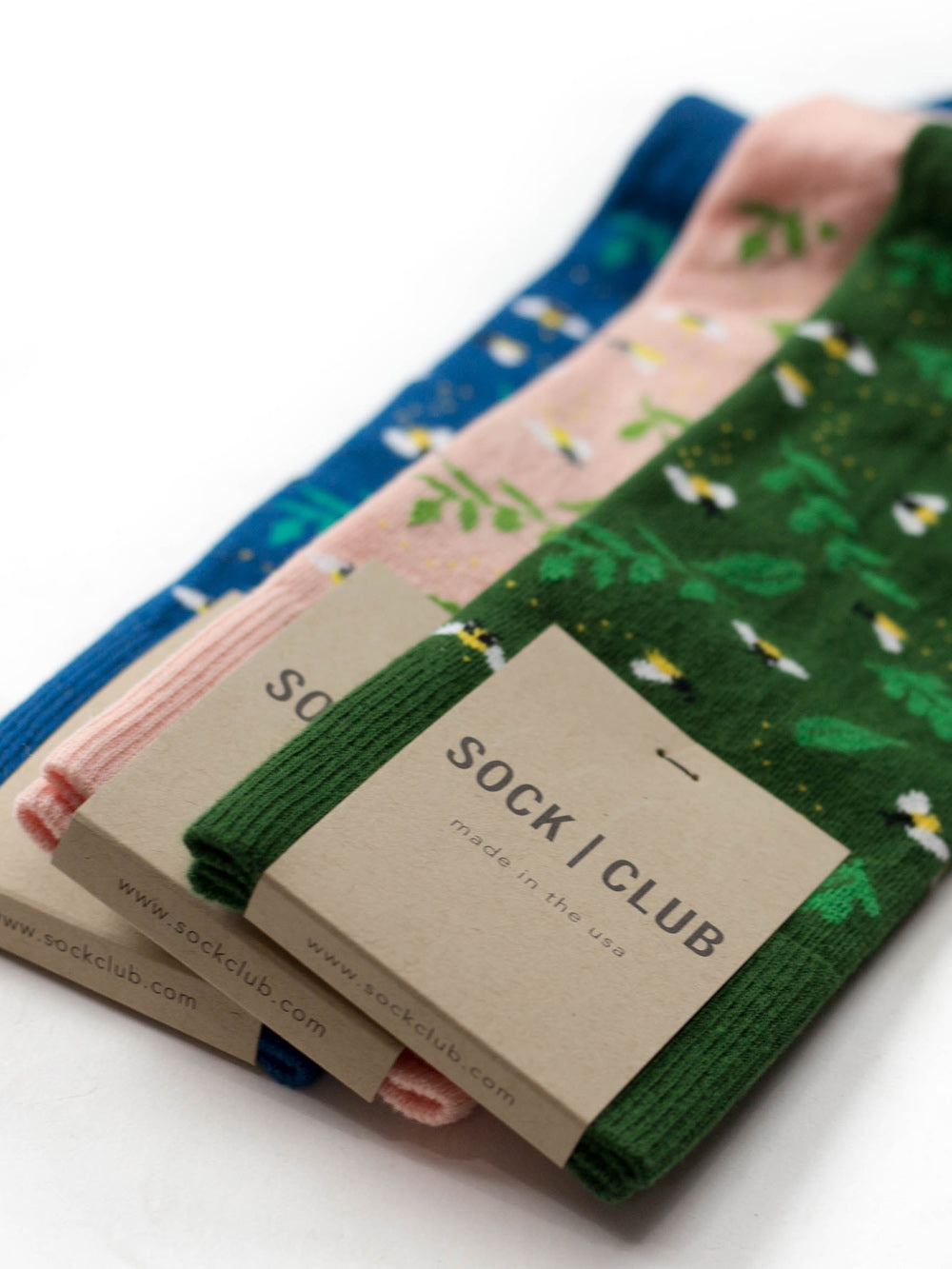 The Firefly - Peach - Sock Club Store
