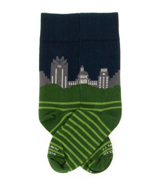 Sock - Austin Skyline (Night)