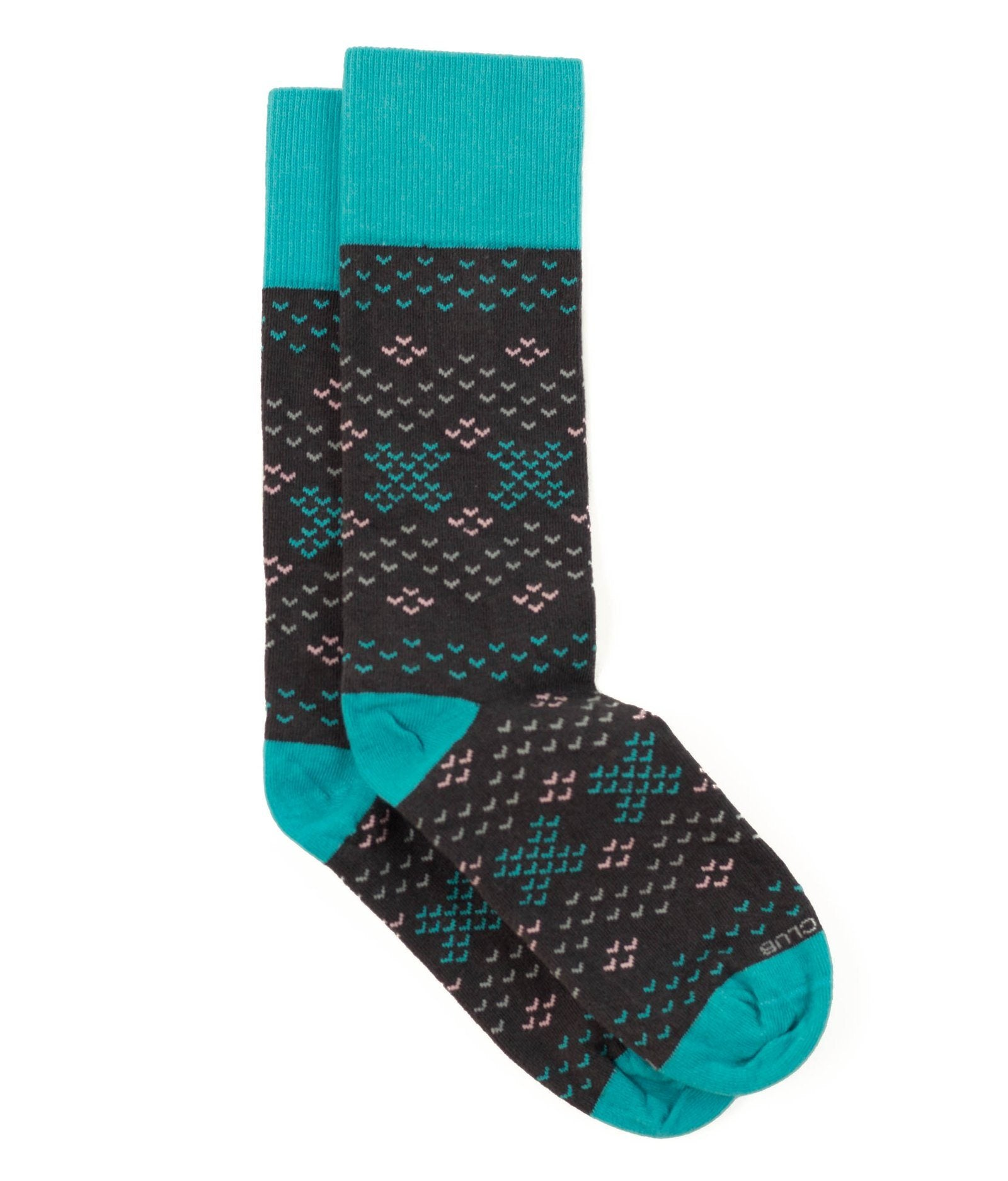 The Amelia - Onyx - Sock Club Store