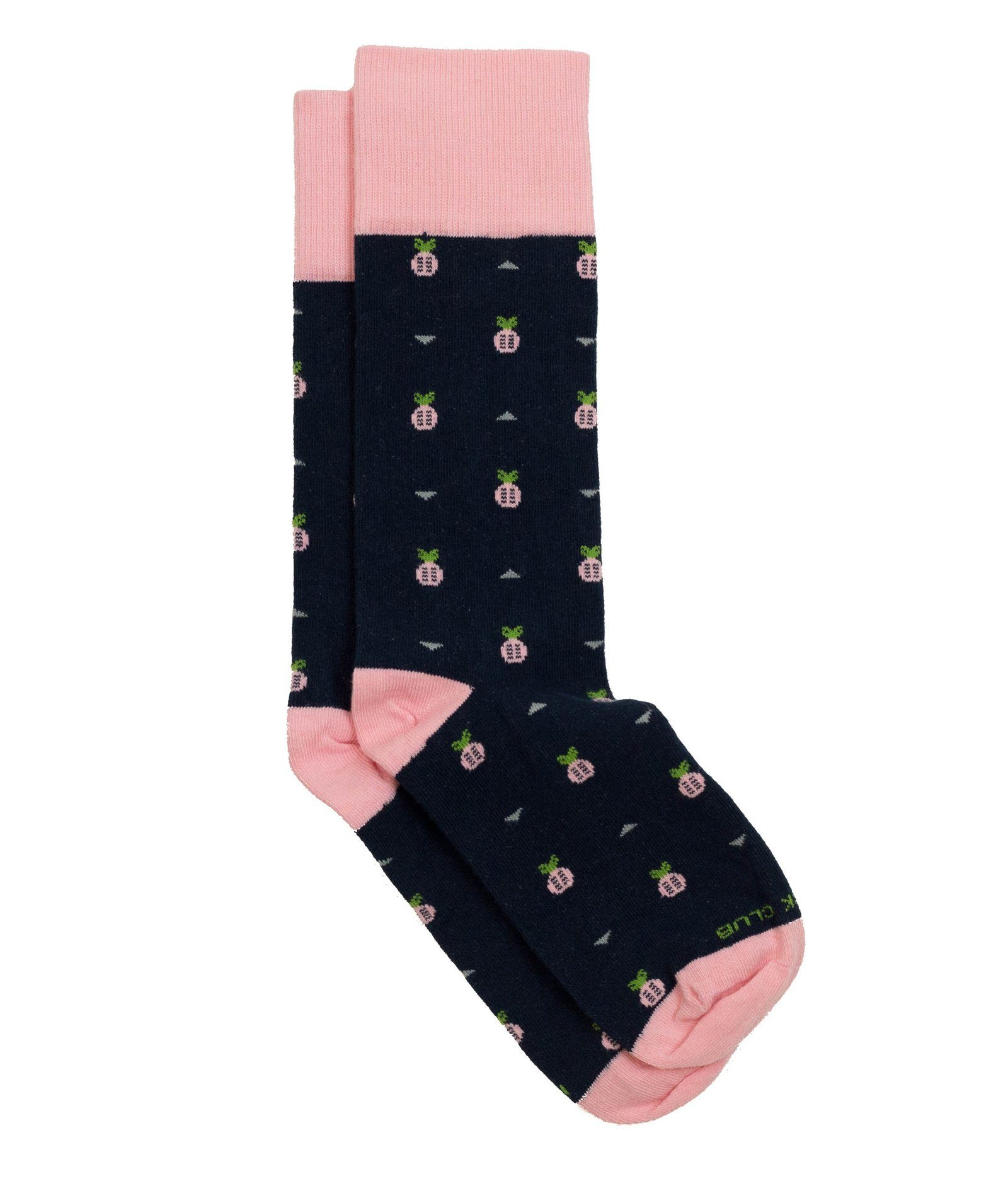 The Ananas - Navy - Sock Club Store