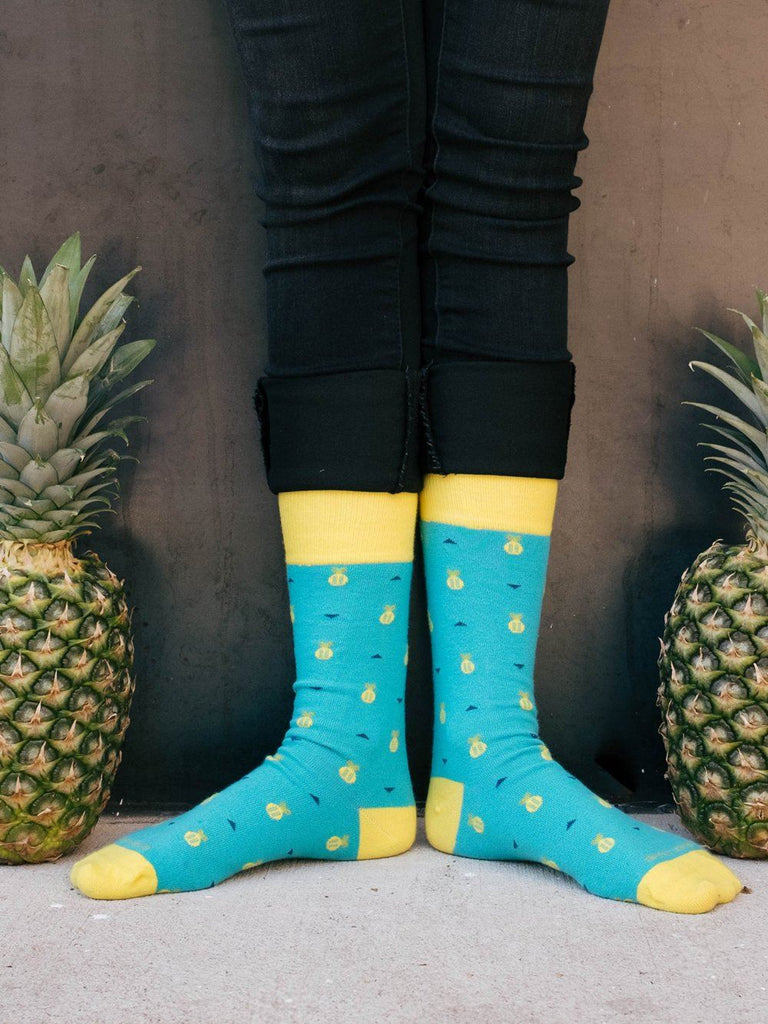 The Ananas - Peacock - Sock Club Store
