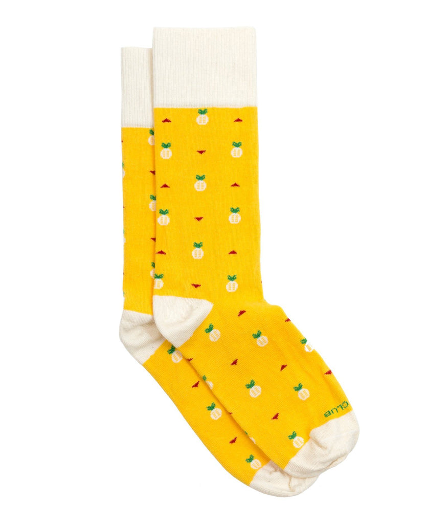 The Ananas - Yellow - Sock Club Store